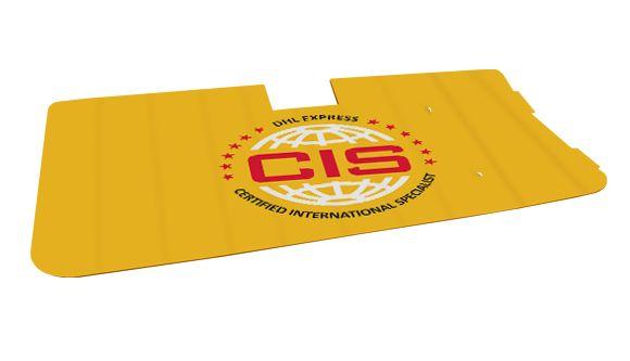 Ein weiteres einzigartiges Patent zurück, Frontscheiben Sonnenschutz Box 300 gefaltet, die in der Form der box.