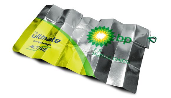 Oder Sonnenschutz-Kfz Super Compact Metalic ist ein original-Patent zurück…